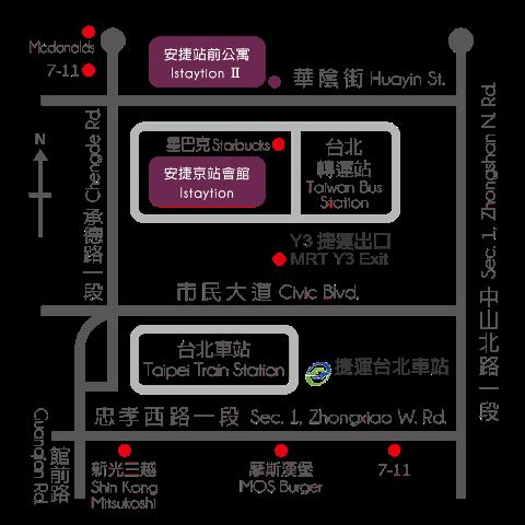 Taipei Train Map